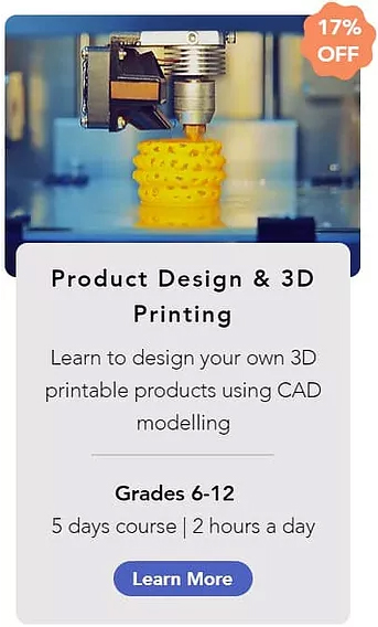 Product design and 3d printing